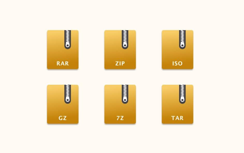 eZip专为国人设计的MacOS上免费解压缩软件支持不解压预览