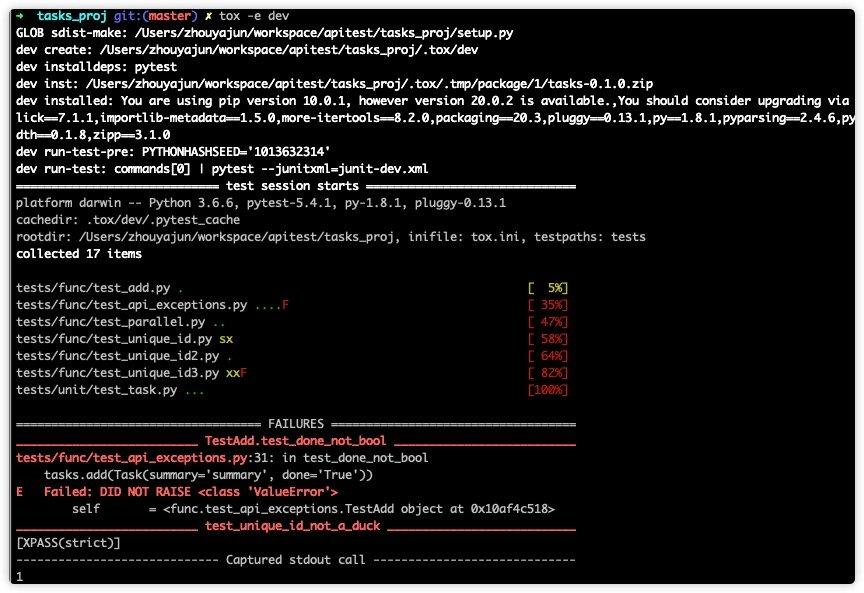 pytest、tox、Jenkins实现python接口自动化持续集成