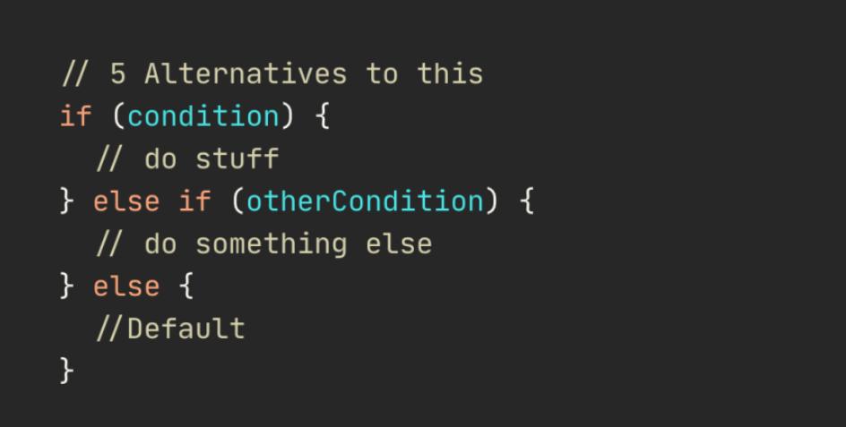设计更好的软件,替换 If-Else 的 5 种方法,从入门到高级示例