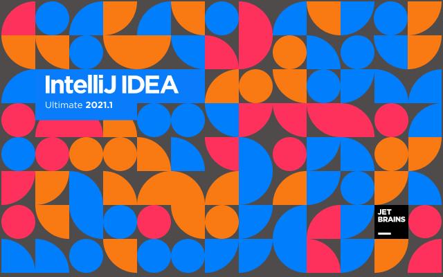 IDEA 2021.1 版本启动界面
